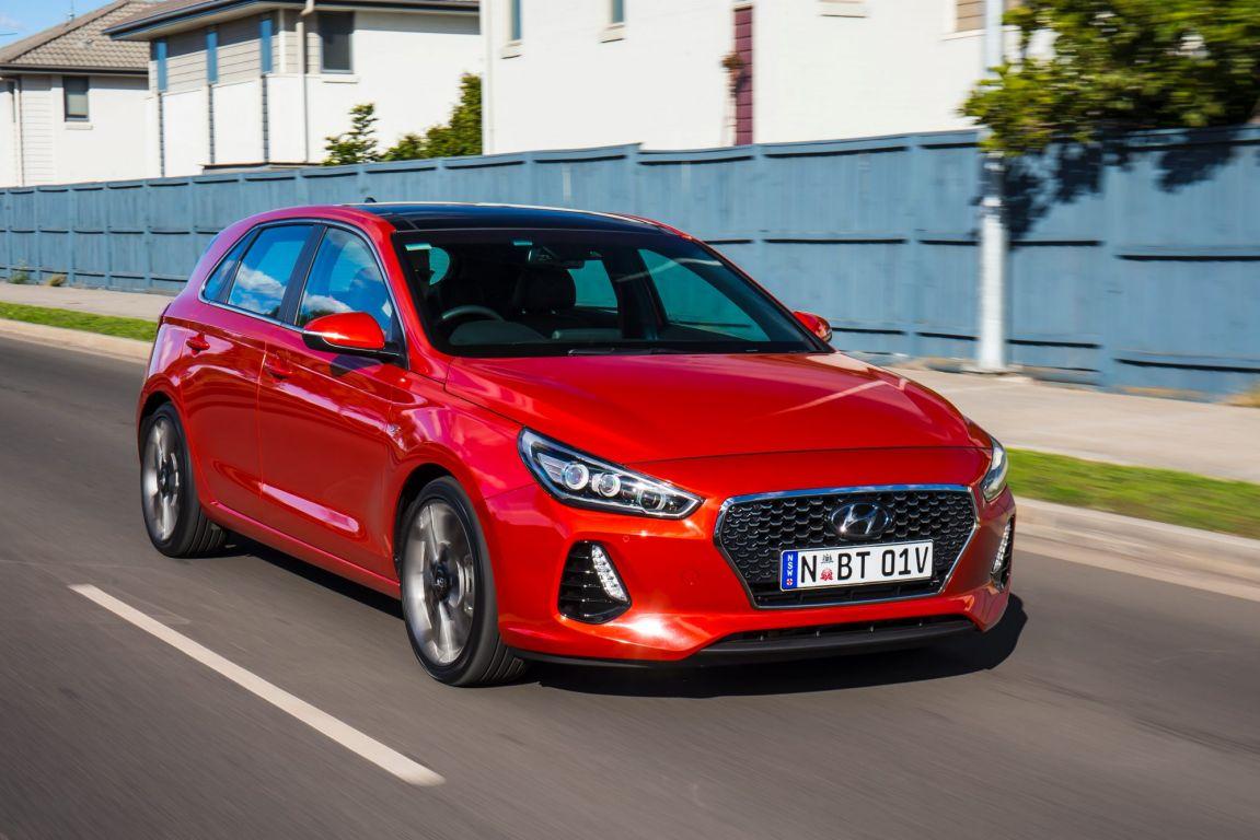 2017 Hyundai i30 SR Premium.