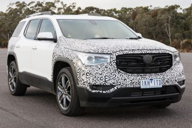 Driving Holden's answer to the Toyota Kluger