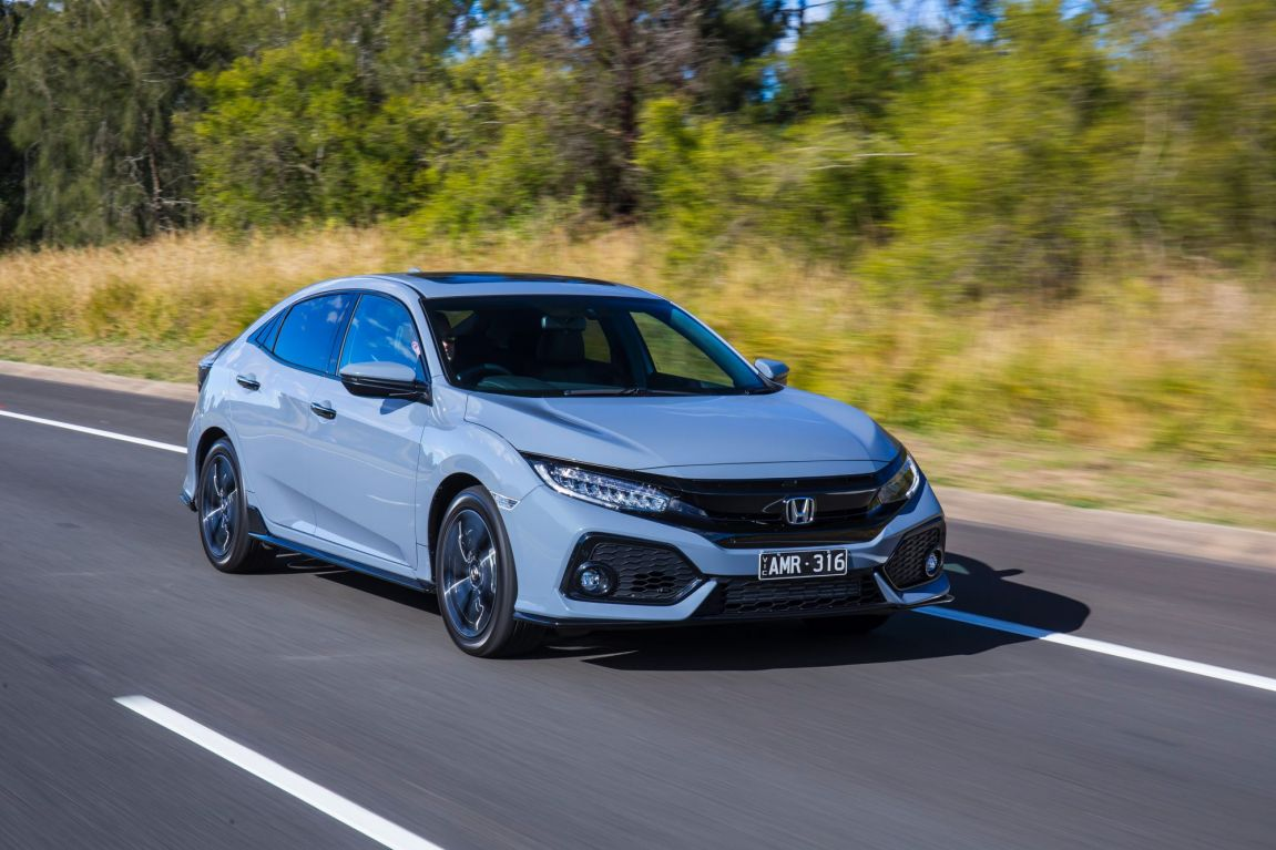 2017 Honda Civic RS.