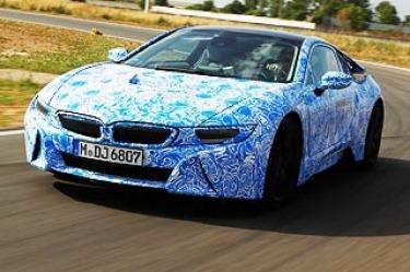 BMW i8 prototype