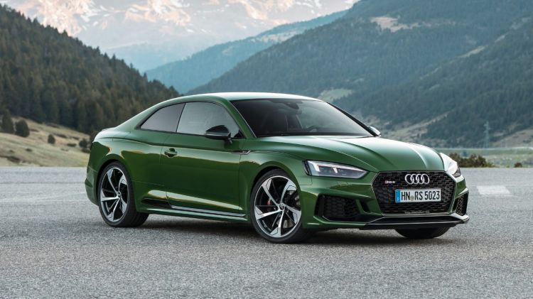 2017 Audi RS5 Coupe.