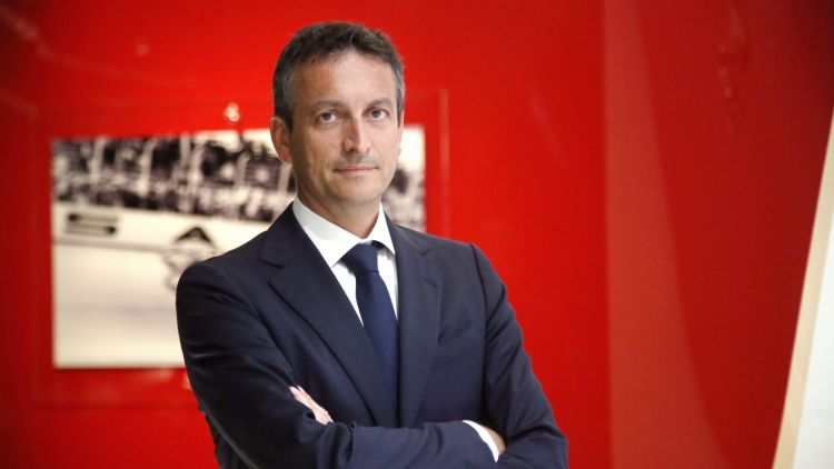 Ferrari chief marketing and commercial officier Enrico Galliera