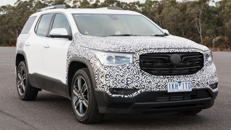 Holden's Acadia SUV fills an important role in the brand's line-up.