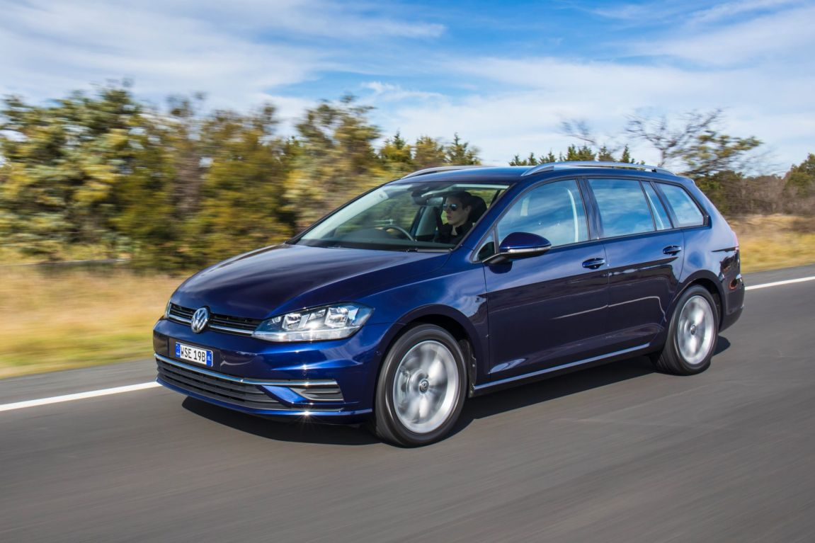2017 Volkswagen Golf 7.5 wagon.