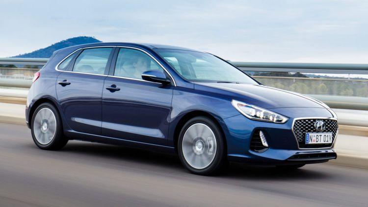 2017 Hyundai i30 Premium diesel.