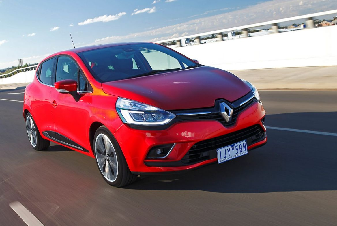 Renault's fourth-generation Clio as a new look.