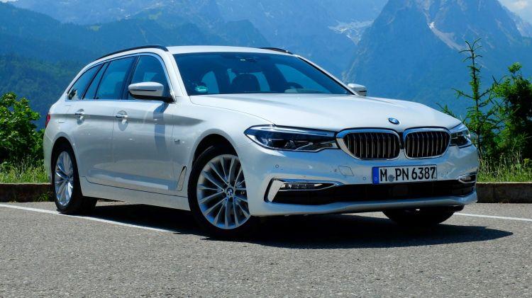 2017 BMW 520d Touring.