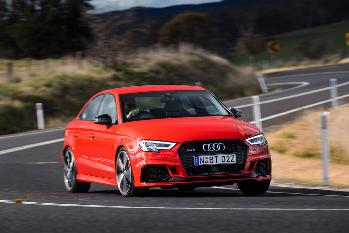2017 Audi RS 3 Sedan First Drive Review | A Sensible Suit Hides Manic Performance
