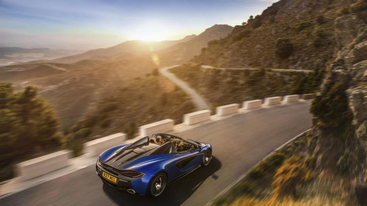 McLaren has introduced a new Spider version of its 570S supercar.