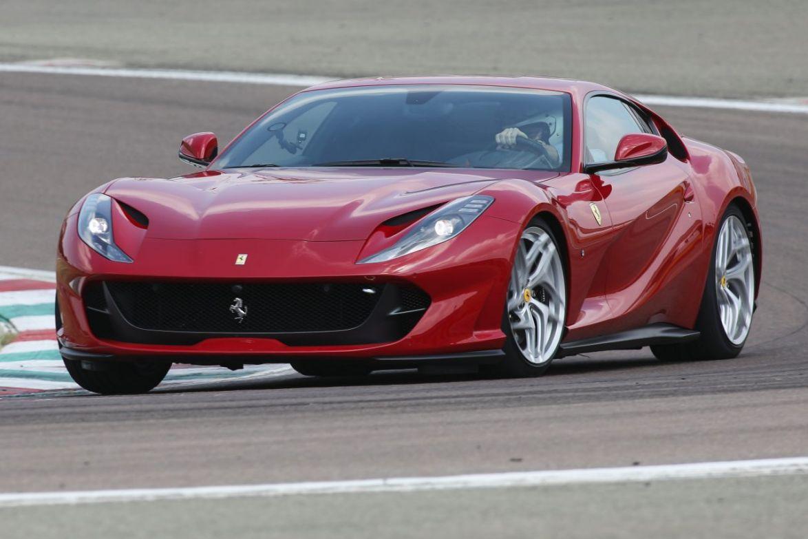 2017 Ferrari 812 Superfast.