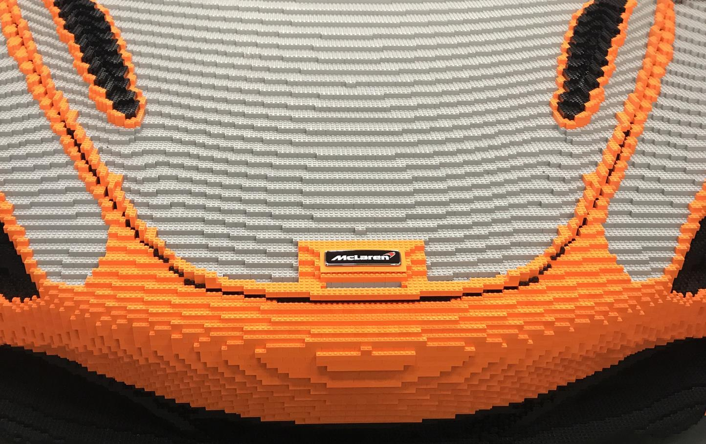 Full-Size 'Some Assembly Required' Lego McLaren 720S Arrives At Goodwood