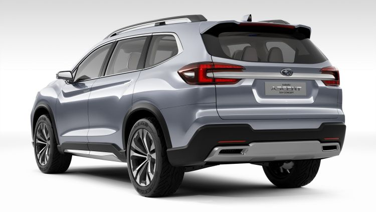 Subaru Ascent concept revealed