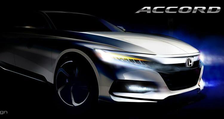 2018 Honda Accord Teased Ahead Of July Unveiling