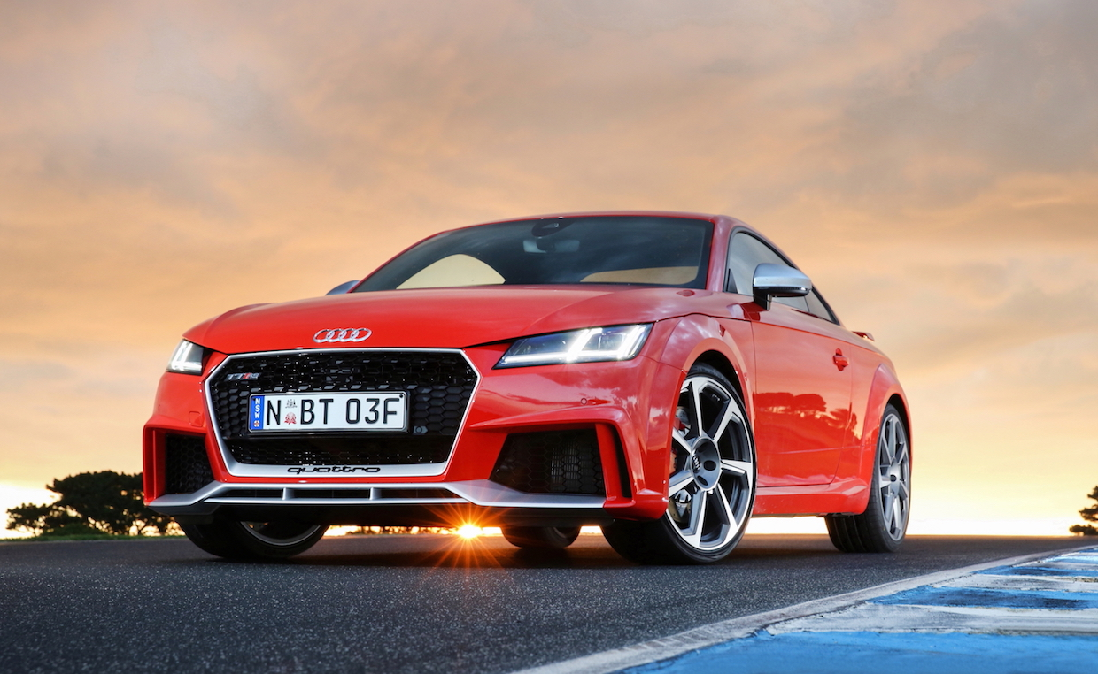 2017 Audi TT RS Track Review | Audi's Wild Child Lets Its Hair Down