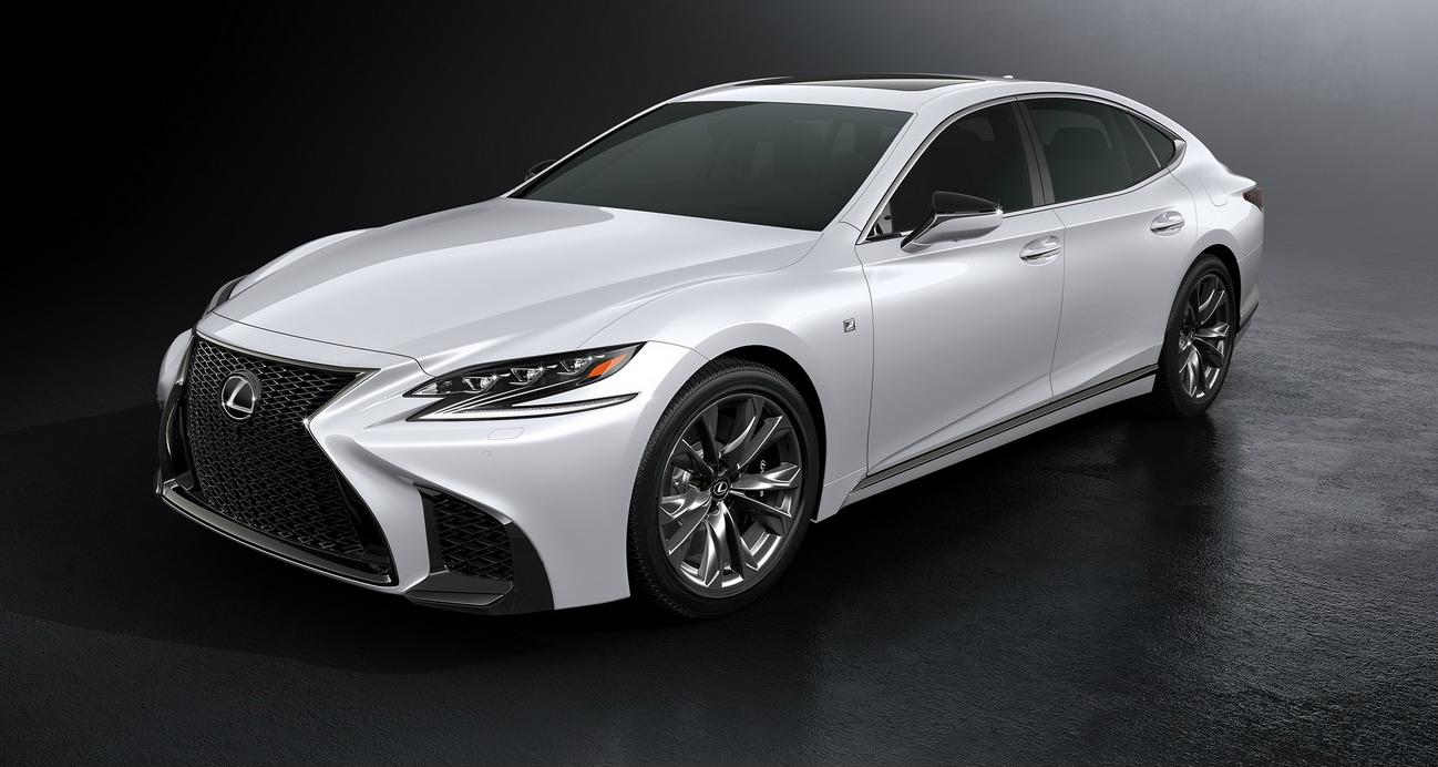 2018 Lexus LS 500 F-Sport Unveiled At New York Auto Show