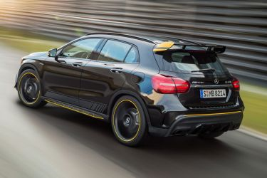 Updated Mercedes-Benz GLA revealed