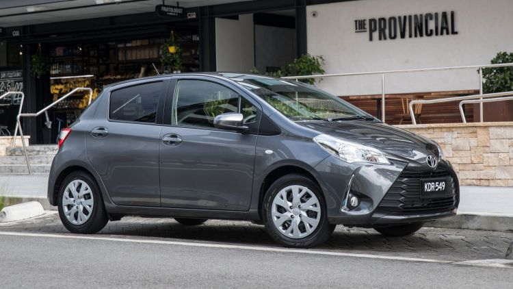 2017 Toyota Yaris SX.