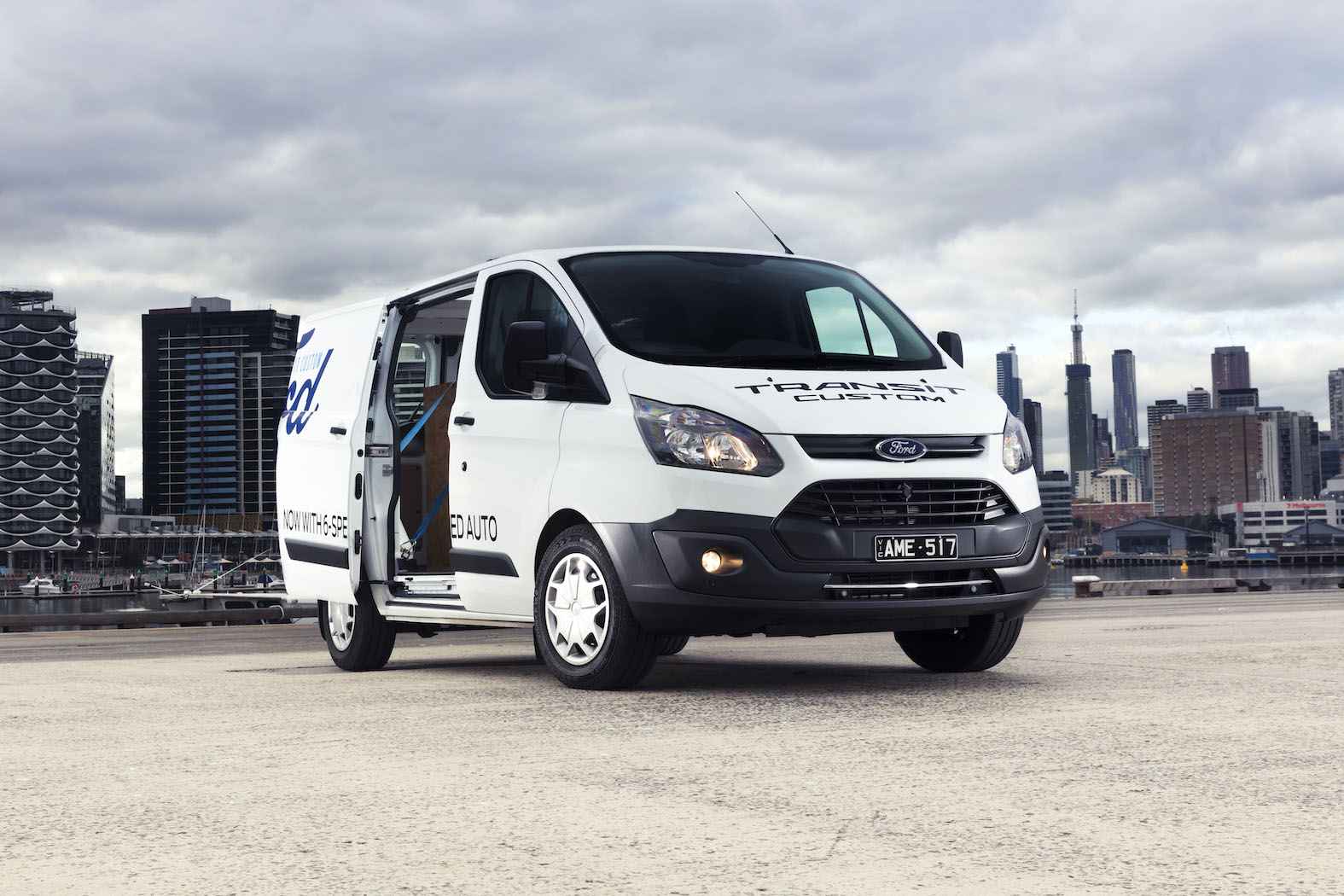 2017 Ford Transit Custom EcoBlue Automatic First Drive | Buyer Appeal Boosted Thanks To Six-Speed Auto