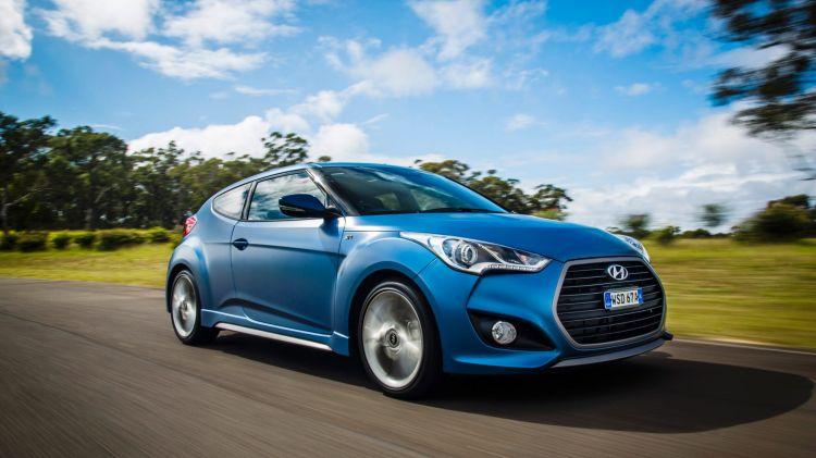 Hyundai's Veloster has a unique look.