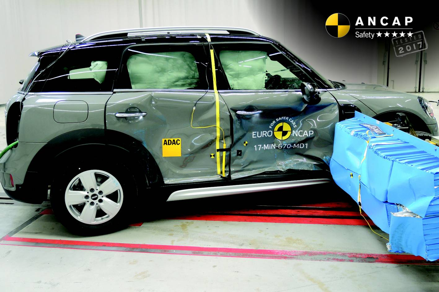 5 Star Safety For Audi Q2, Q5, Mini Countryman, Skoda Kodiaq