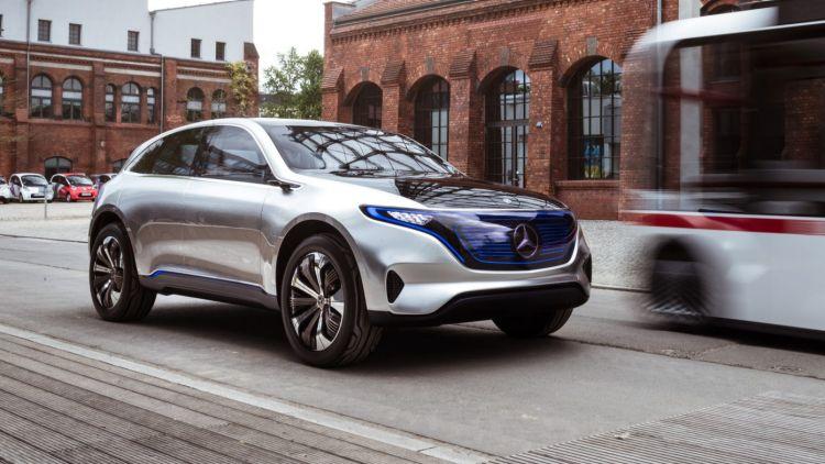 Mercedes-Benz EQ first taste