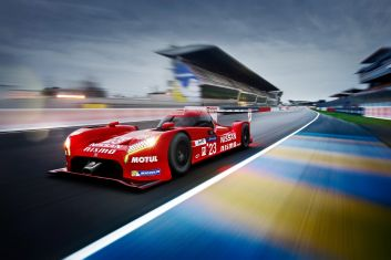 Nissan GT-R LM Nismo Le Mans test 2015 Nissan Motorsport at Le Mans 2015.