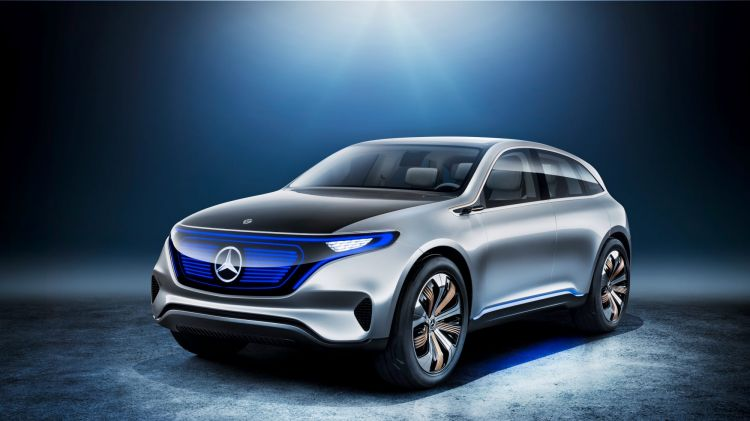 Mercedes-Benz plans to produce an electric hatchback as part of its EQ sub brand