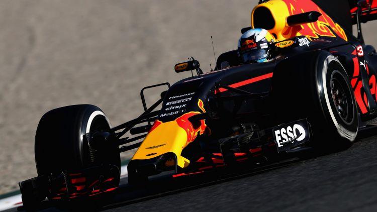 Daniel Ricciardo in action ahead of this weekend's Australian Grand Prix.
