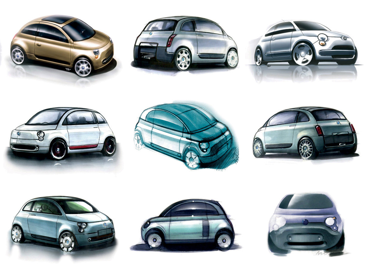 "Hybrid ""inevitable""  In All-New Fiat 500"