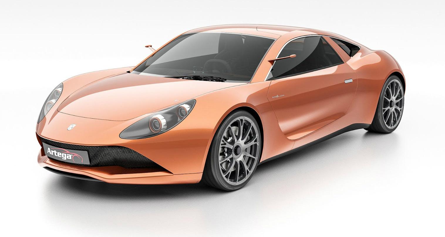 Artega Back With Scalo Superelletra - Geneva Motor Show