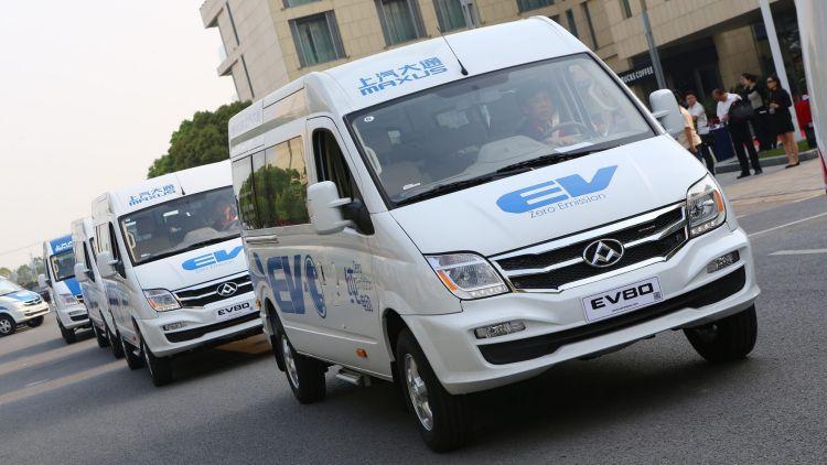 A trial of the LDV EV80 electric van will begin in Australia in 2017.