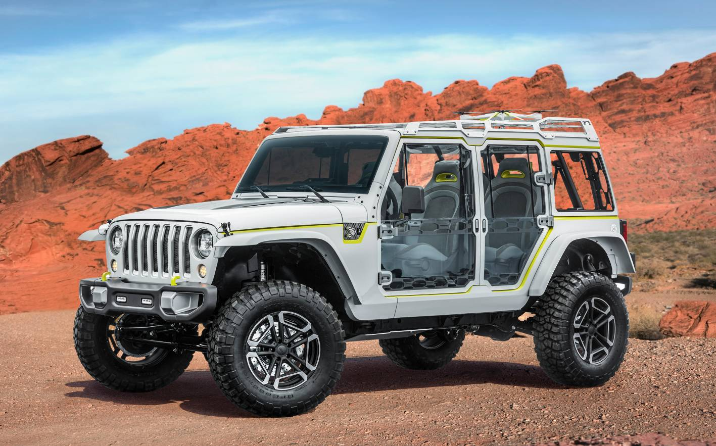 Jeep Unveils Easter Safari Concepts Ahead Of Annual Off-Roading Expo