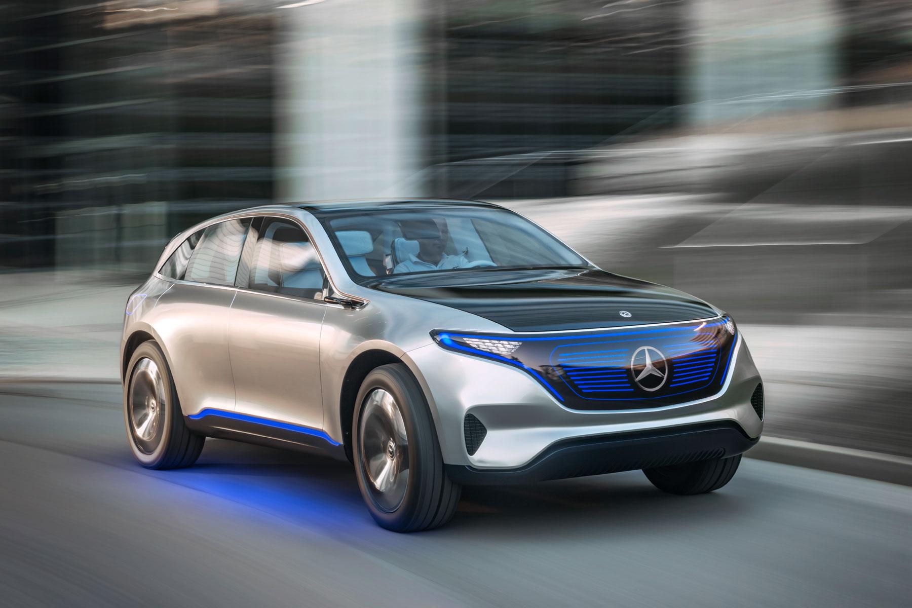 Mercedes-Benz accelerates electric car investment.