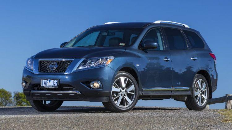 2014 Nissan Pathfinder.