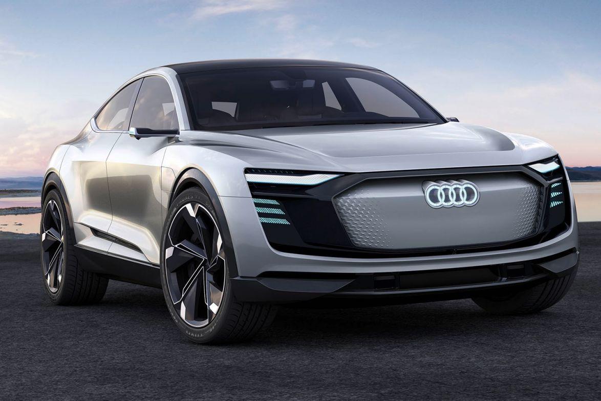 2017 Audi e-tron sportback concept.