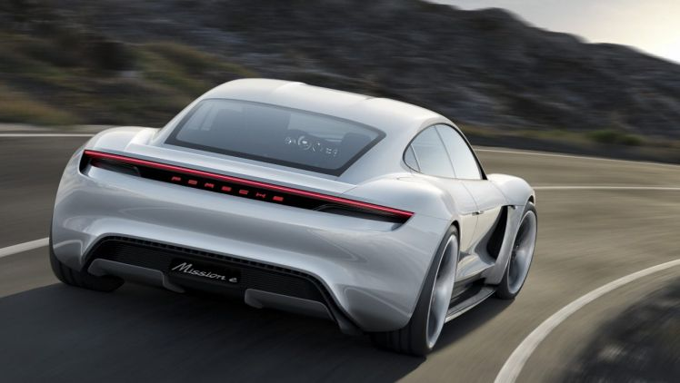 Porsche's Mission E vehicle will be capable of zero-to-100km/h in under 3.5 seconds, and will get to 200km/h in under 12 seconds.