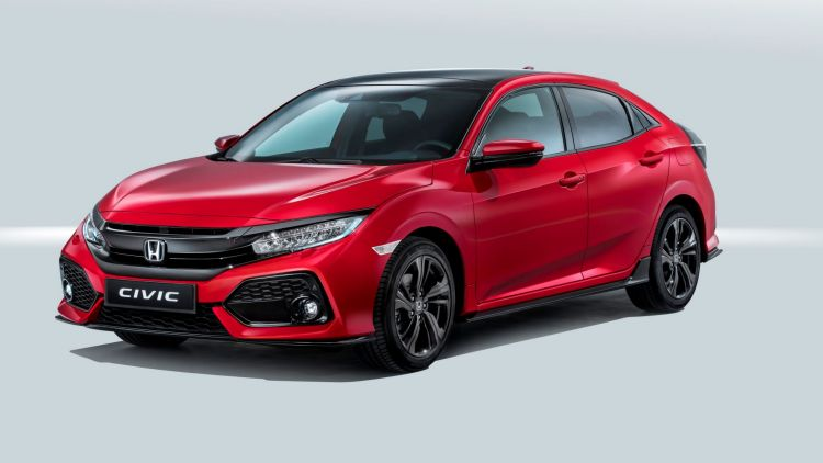 2017 Honda Civic hatch.