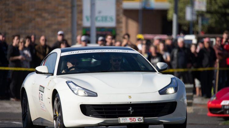Ferrari GT4CLusso at Targa Tasmania.