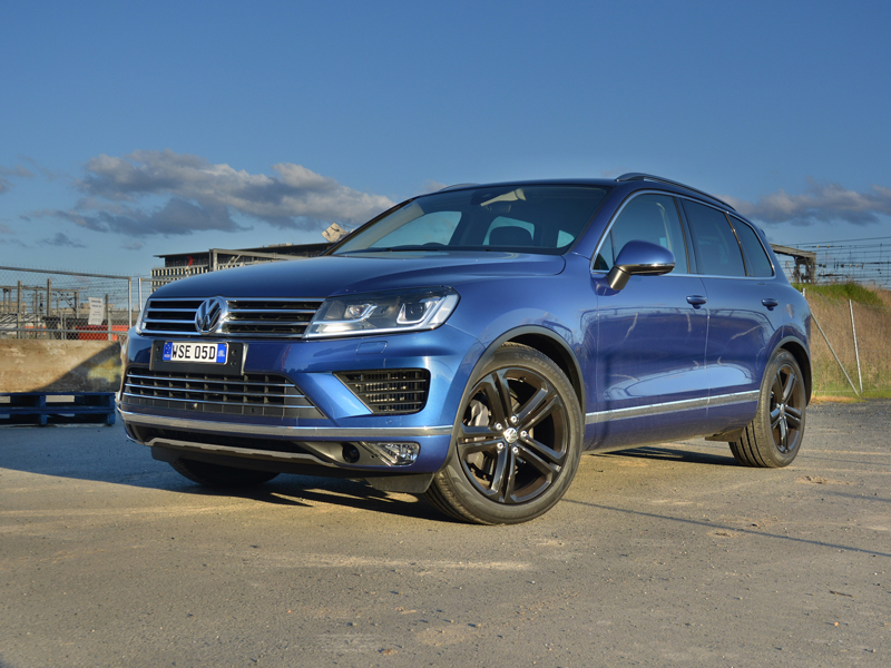 2017 Volkswagen Touareg Wolfsburg Edition Review - Aging SUV Gets Some New Claws