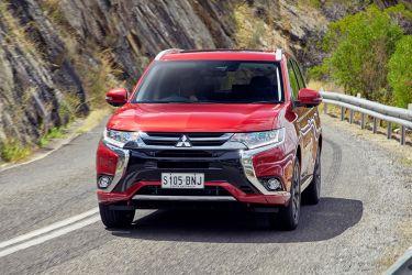 2017 Mitsubishi Outlander PHEV.