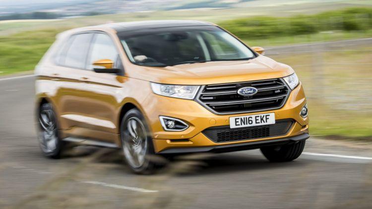 Ford Edge, Scotland. July 2016  Photo James Lipman / jameslipman.com 2016 Ford Edge (overseas model shown).
