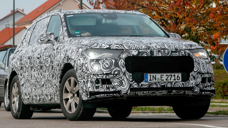 Audi's new Q7 has been spotted during tetsing. Source: Automedia.