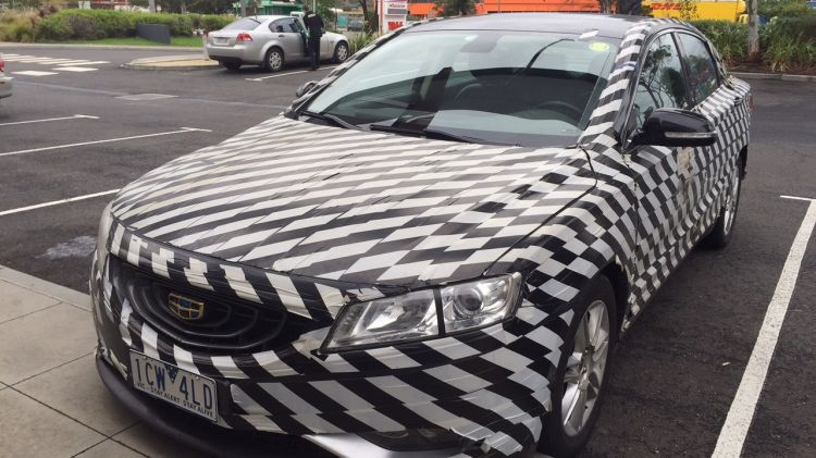 Geely GC9 was spotted in Melbourne.