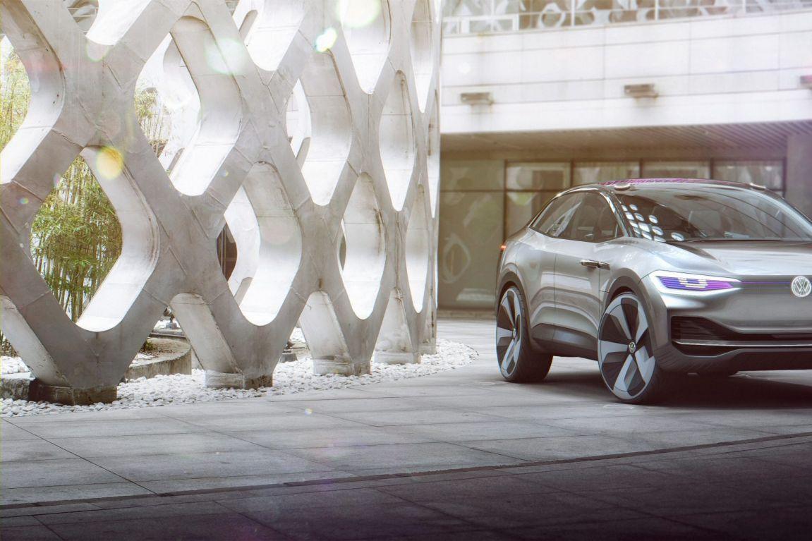 2017 Volkswagen I.D. Crozz concept.