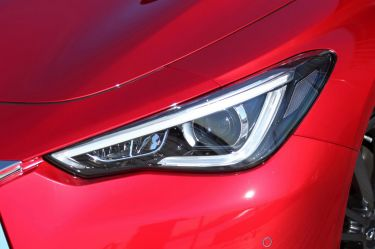 2017 Infiniti Q60 Red Sport new car review