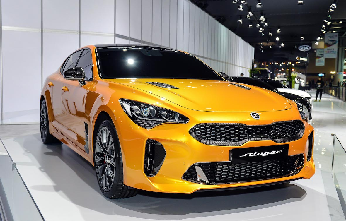 """Kia """"Actively Looking""""  At Supercars Entry With Stinger GT"""