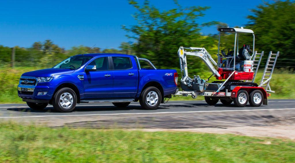 2017 Ford Ranger XLT.