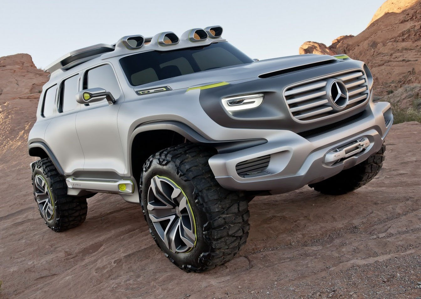 Mercedes-Benz GLB SUV To Feature G-Class Inspired Styling