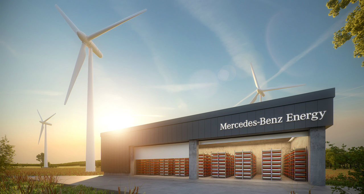 Mercedes-Benz Energy - New Energy Storage Arm To Tackle Tesla Powerwall
