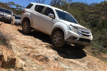 Feature: Off-road driving with Isuzu
